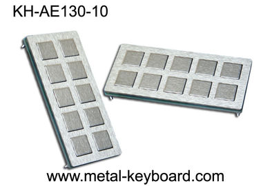 الصين IP65 Rated Stainless Steel Keyboard , customisable ss keyboard 10 Super Size Keys المزود
