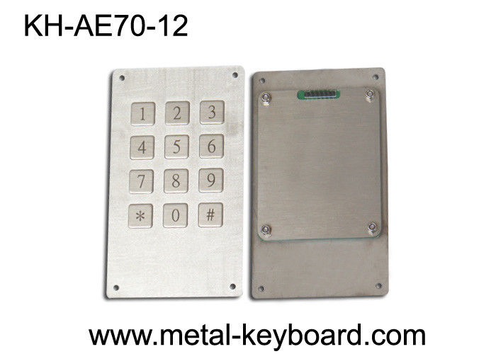 IP65 Rated Weatherproof 12 Keys Numeric Door Entry Keypad with 3 x 4 Matrix