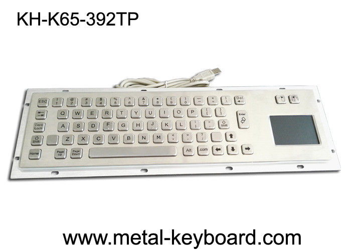 Vandal Proof Industrial Computer Keyboard with Mouse for Accuate Pointing Device