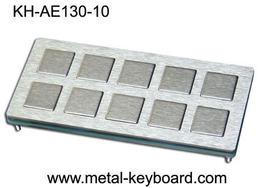 الصين 10 keys Custom Industrial Metal Keyboard Industrial Kiosk Keyboard مصنع