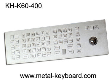 الصين Weather - Proof Industrial Keyboard with Trackball , Kiosk trackball keyboard Metal مصنع