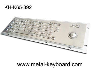 الصين Anti - corrosive Access Kiosk trackball keyboard , metal keyboard with trackball 38MM مصنع